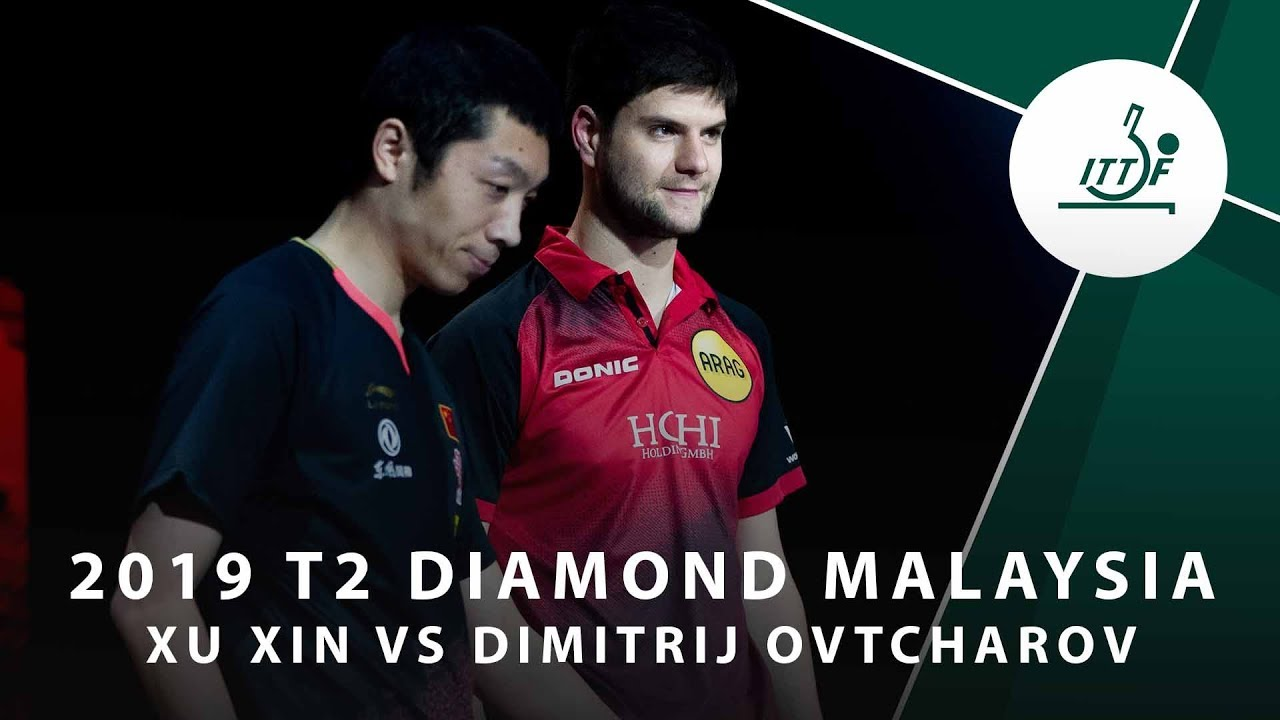 Xu Xin vs Dimitrij Ovtcharov | 2019 T2 Diamond Malaysia (R16)