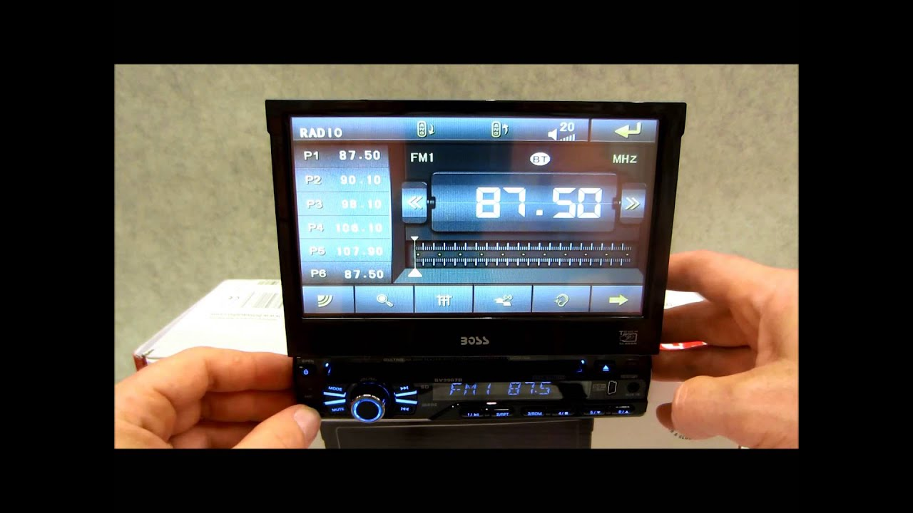 maxresdefault boss in dash dvd receiver review bv9967b with bluetooth youtube  at bakdesigns.co