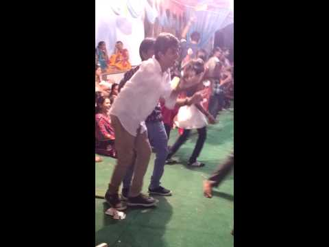 A pure funny village dance