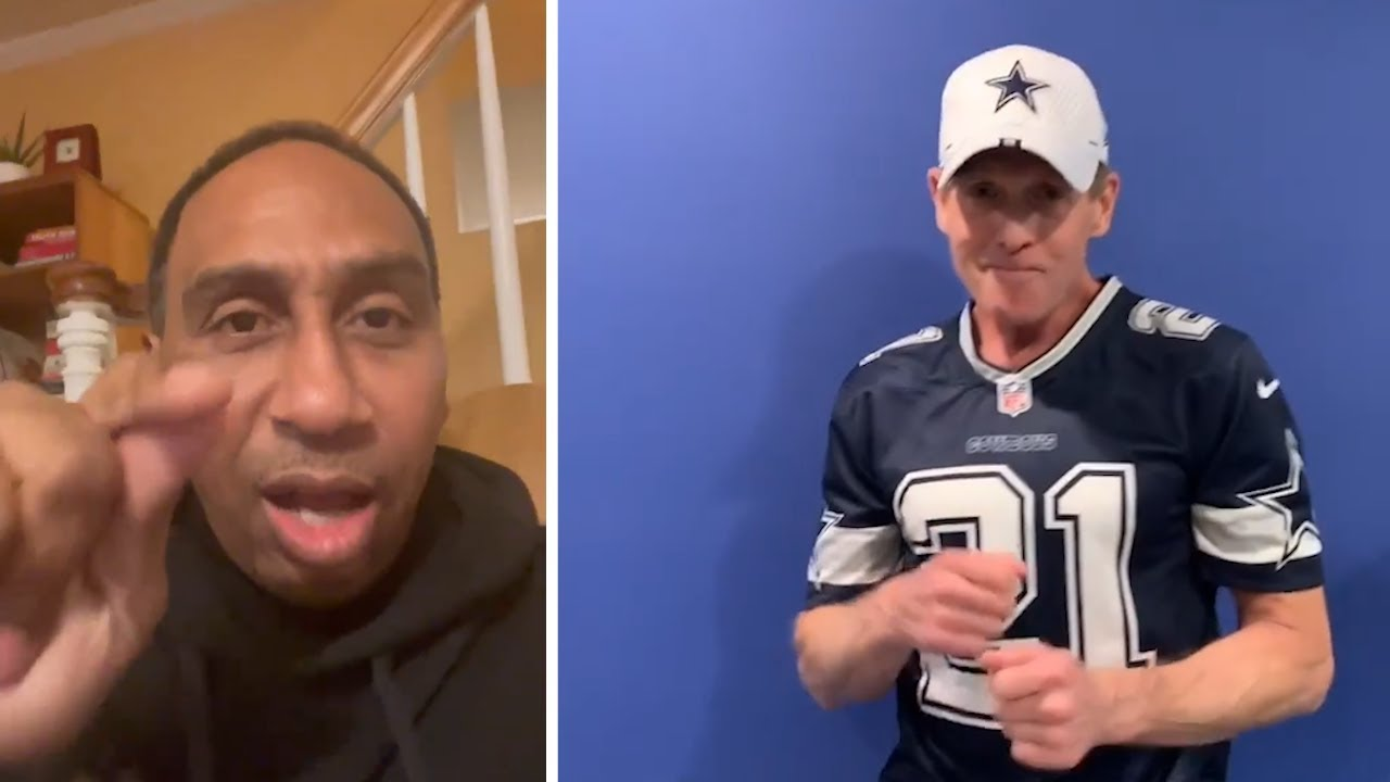 Stephen A Smith Ticked Off With Dallas Cowboys Fans After Win, Skip Bayless Pumped!