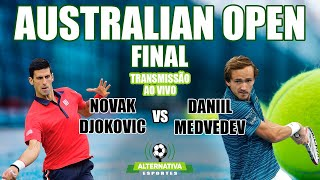 Novak Djokovic x Daniil Medvedev - Final Australian Open (Narração Ao Vivo)