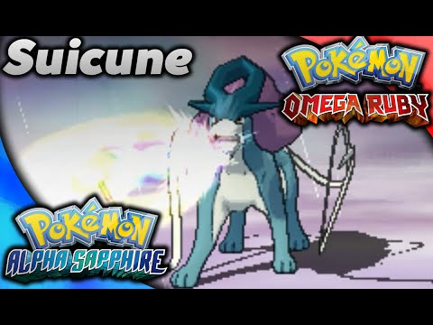 Catching Suicune in Omega Ruby and Alpha Sapphire!