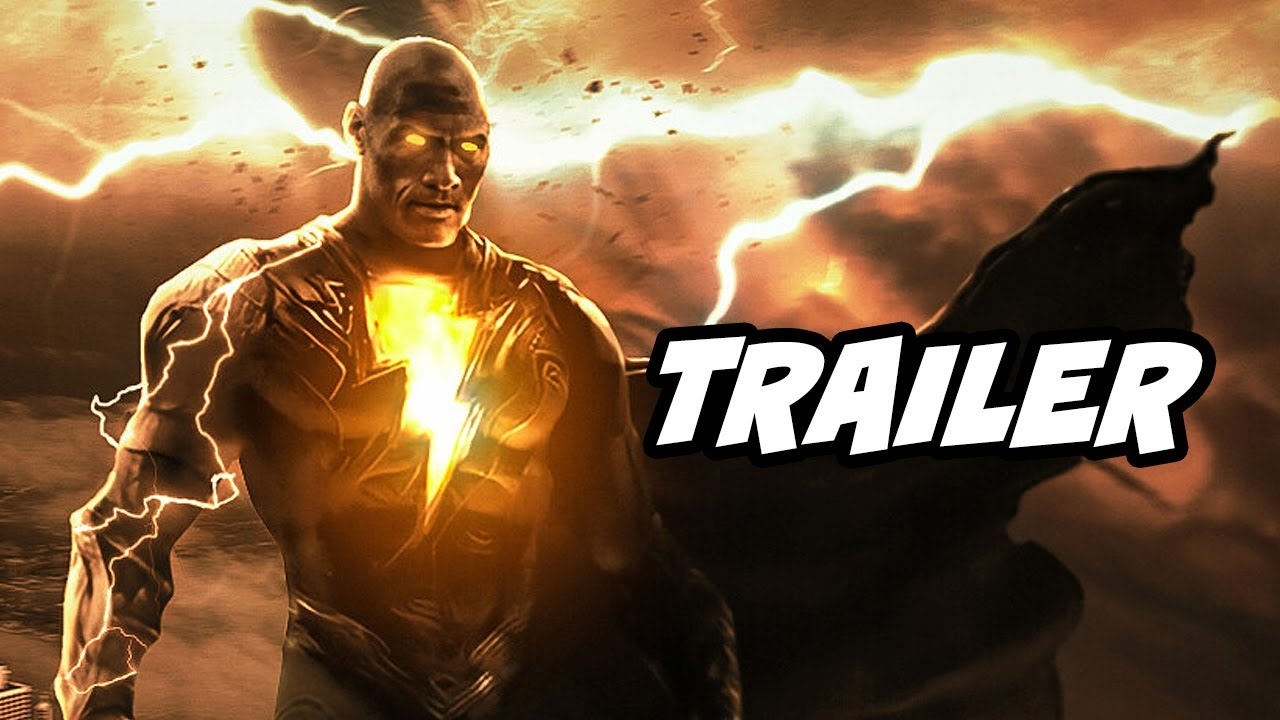 Download Black Adam Teaser Trailer 2022 Breakdown and Justice League Snyder Cut Connections
