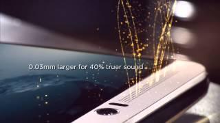 HTC One M9 Masterpiece Series - HTC BoomSound™ with Dolby Audio™ Surround