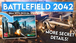 DICE Answered OUR Questions! NEW BATTLEFIELD 2042 Gameplay Details 👀