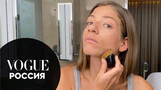Саша Новикова уход за кожей зимой и легкий макияж Секреты красоты