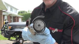 Install a birfield on the axle fast!  Pro Tips, PowerModz.com