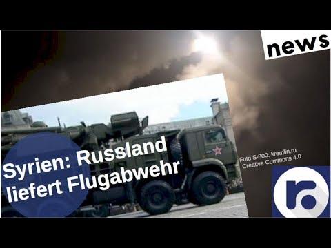 Syrien: Russland liefert Flugabwehr