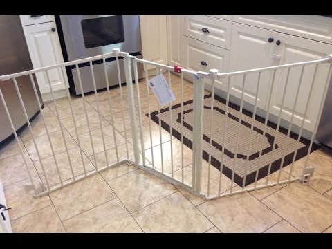 "Regalo Super Wide 76"" Configurable Baby Gate Review"