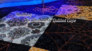 Quilting The Halloween Quilted Cape