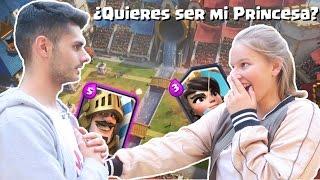 ¿QUIERES SER MI PRINCESA? - COMENTARIOS DE CLASH ROYALE EN LA VIDA REAL!!