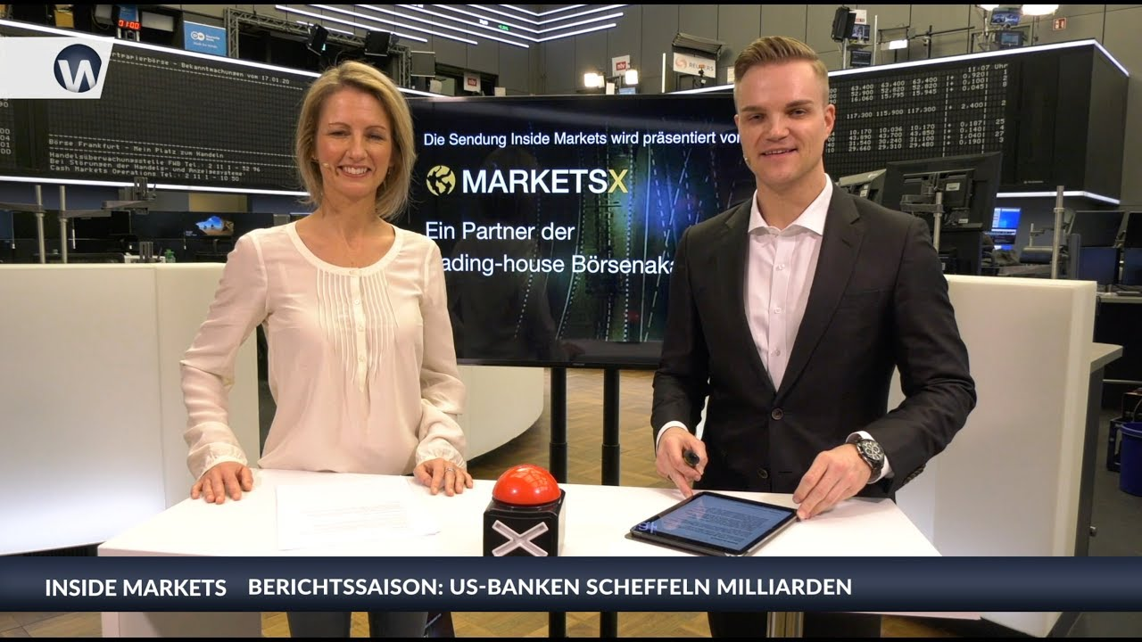 Inside MarketsX: US-Banken scheffeln Milliarden