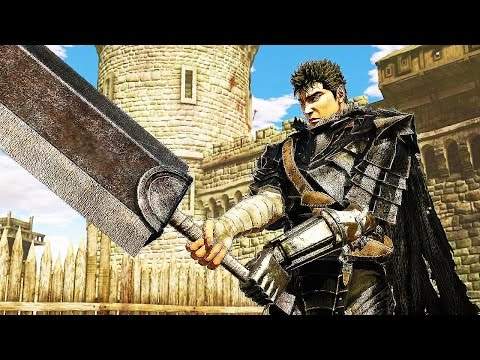 BERSERK and the Band of the Hawk 32 Minutes Gameplay Developer Demo (PS4 PC) Berserk Musou 2017