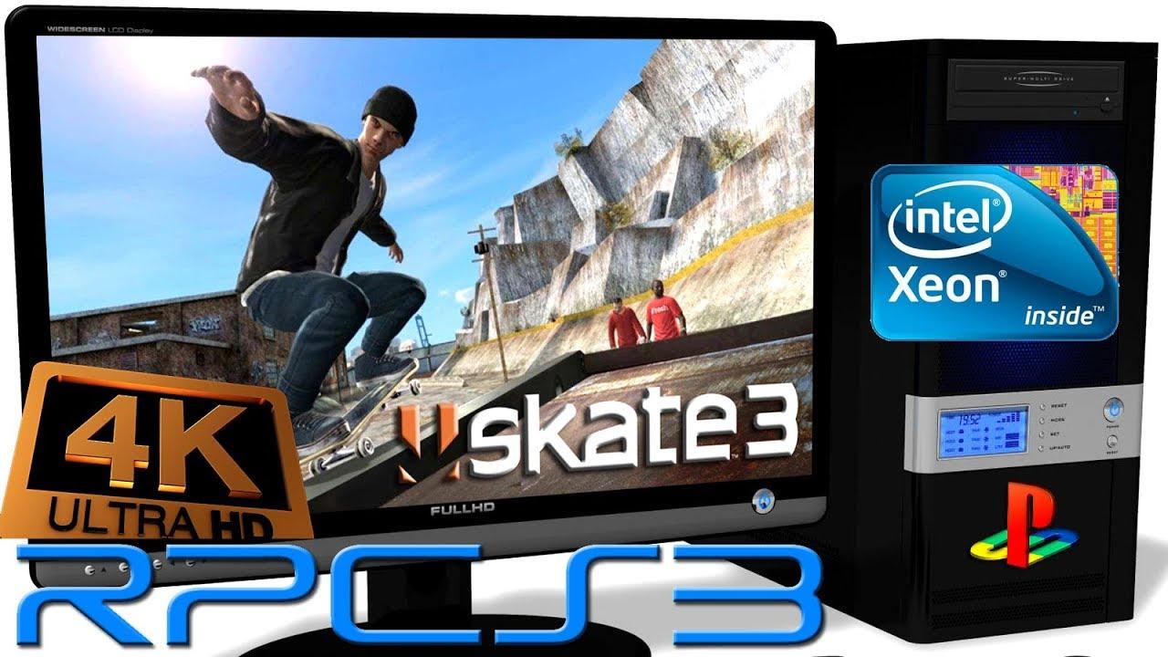 RPCS3 0 0 5 PS3 Emulator - Skate 3 (4K UpScale) LLVM Vulkan #3