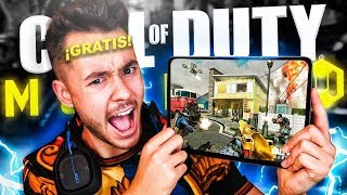 MI PRIMERA PARTIDA A CALL OF DUTY MOBILE GRATIS - TheGrefg