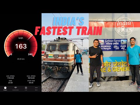 Gatimaan Express, India's Fastest Train at 160 Kmph, Delhi to Jhansi Executive Class Journey