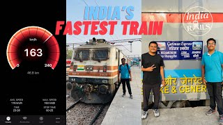 EP #12 Gatimaan Express, India's Fastest Train at 160 Kmph, Delhi to Jhansi Executive Class Journey