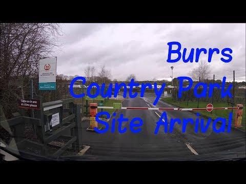 Lancashire - Burrs Country Park CAMC Site Arrival