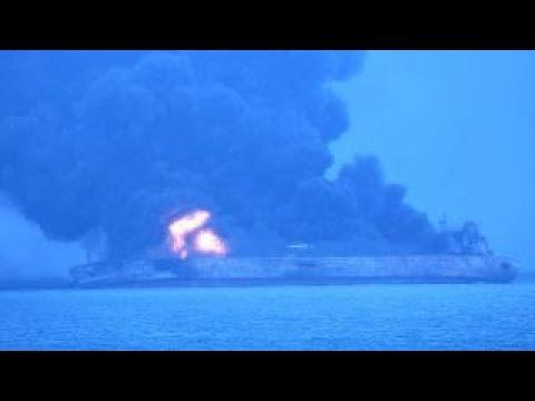 Stricken Iranian oil tanker at risk of exploding