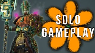 Smite Chaac Solo Gameplay