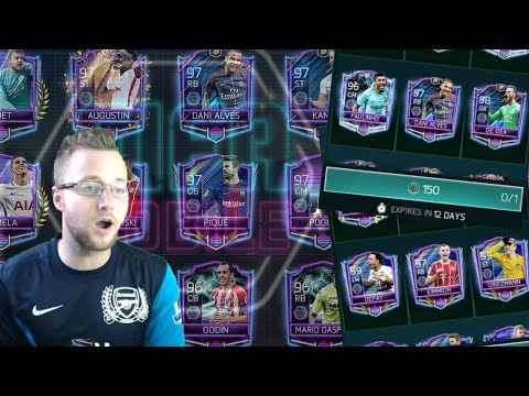 Free Guaranteed Retro Stars Master Player In FIFA Mobile 18! 150 Throwback Point Pack Huge TOTY Pull