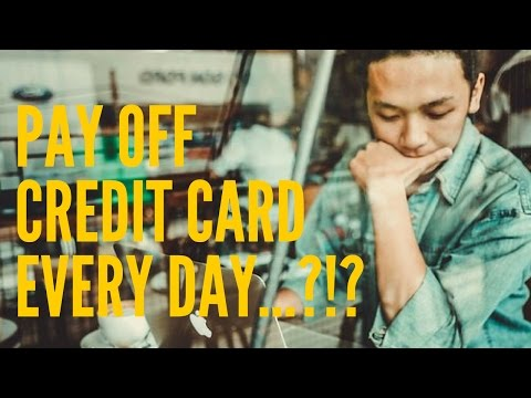 Should You Pay Off Your Credit Card Every Single Day