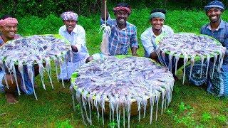 SQUID MASALA | 30KG Squid Cooking In Village | Tasty Calamari Recipe |