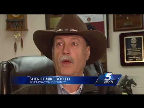 Pottawatomie County deputies catch suspect with drone