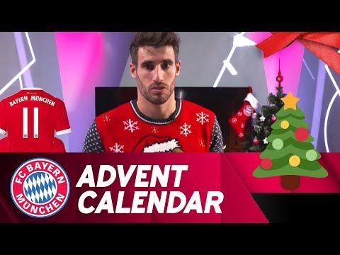 What is Javi Martínez describing? | FC Bayern Xmas Advent Calendar #11