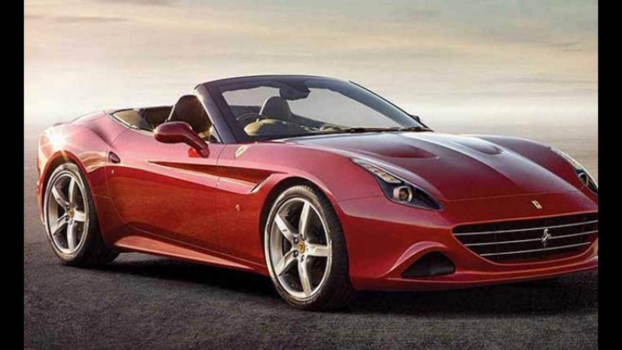 Concept Redesign 2018 Ferrari California T New Youtube