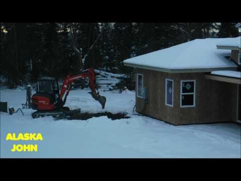 ALASKA WINTER HOUSE CONSTRUCTION - Cold Work