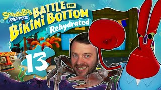 CHAOS in der KROSSEN KRABBE 🧽 SPONGEBOB: BATTLE FOR BIKINI BOTTOM REHYDRATED #13