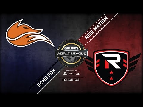Echo Fox vs Rise Nation | CWL Pro League | Stage 1 | Week 5 | Day 3