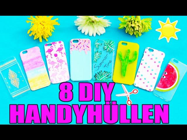 8 Diy Handyhullen Sommer Tumblr Phone Case Selber Machen