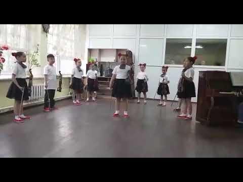 """Е.Медведовский """"Гамма-джаз"""" - ансамбль скрипачей """"Ак Шоола"""" г.Бишкек"""