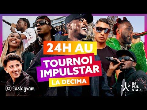 Youtube: 24h au tournoi IMPULSTAR avec Ninho, Niska, Maes, Burna Boy, Tiakola, Just Riadh…