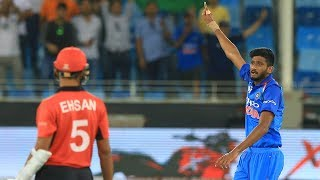 Khaleel helps India overcome big Hong Kong scare (hindi) | Asia Cup '18