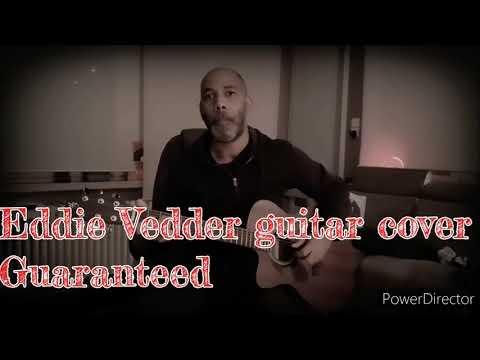 Guaranteed - Eddie Vedder guitar cover (test Harley Benton CLA-15MCE)