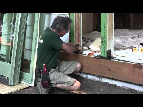 Installing Exterior Doors & Windows: Preparing the Sill