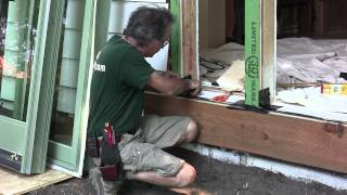 Installing Exterior Doors & Windows: Preparing the Sill