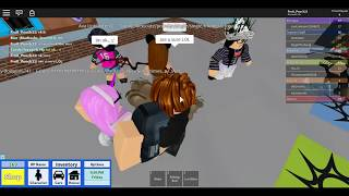 Catching gold digger in roblox high school GONE WRONG!!!