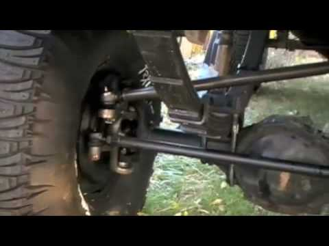 High steer on 85 chevy truck - YouTube