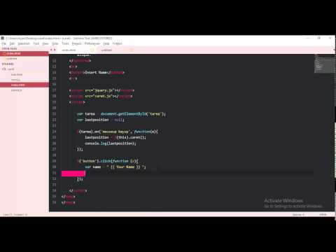 jquery caret - insert name text in textarea, last postion, between