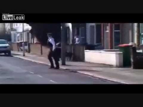 DOG ATTACKS POLICE!! UK vs. USA