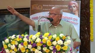 How is Science and Religion Inter- related to each other by B.M Hegde, Ramakrishna Math, Hyderabad.