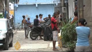 Favela gun battle rocks Brazil protests