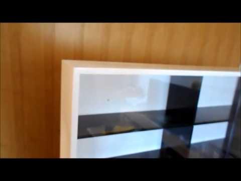 db11b7274 ESTANTE MINIATURA ESCALA 1 18 - 12 NICHOS MDF - YouTube