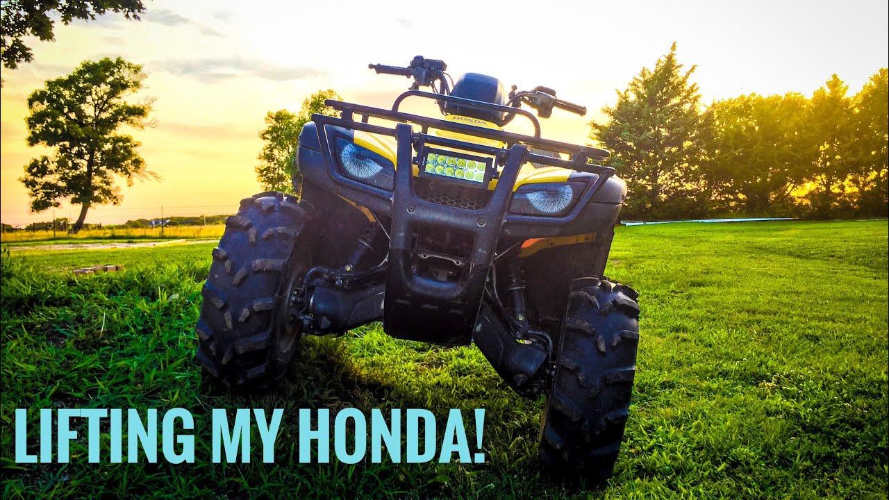 Honda Rancher 420 Spacer Lift Kit