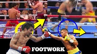 Southpaw Boxing Footwork (Vasyl Lomachenko & Manny Pacquiao)