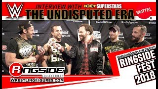 Gambar cover Ringside Fest 2018: The Undisputed Era! Adam Cole, Kyle O'Reilly, Bobby Fish, and Roderick Strong